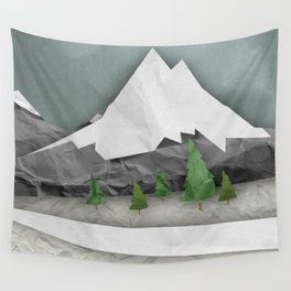Wrinkled winter  Wall Tapestry