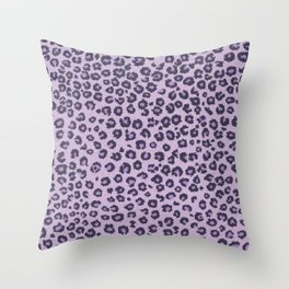 Pink cheetah Throw Pillow