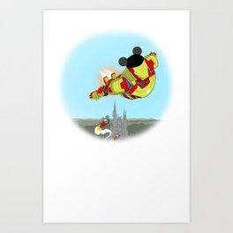 Ironman Disney  Art Print