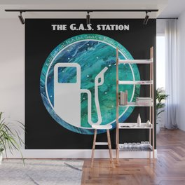 The G.A.S. Station Wall Mural