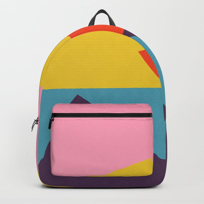 Pink Cocktail Backpack