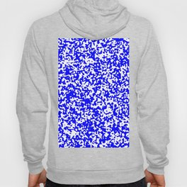 Small Spots - White and Blue Hoody