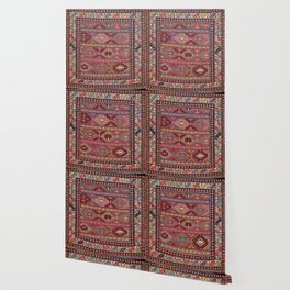 Shahsavan  Azerbaijan Northwest Persian Bag Print Wallpaper