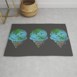 Earth's Melting Point Rug