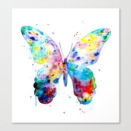 Butterfly Art Print - Colorful Butterfly Art - Nursery Art - Art Gift Canvas Print