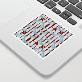 For the Birds and Birch Trees Sticker