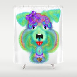 Biscuit Breath Shower Curtain