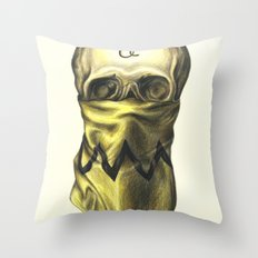 You're A Bad Man, Charlie Brown Throw Pillow