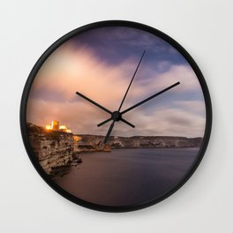 The wind of Corse Wall Clock