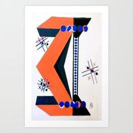 Tick Tac Toe Art Print