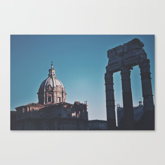 Old Italy Canvas Print