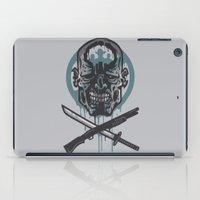 walking dead iPad Cases featuring Dead Men Walking by WinterArtwork