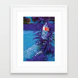 Next pure lie Framed Art Print