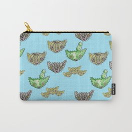 """""""Oro?"""" Cactus Blue Carry-All Pouch"""