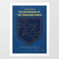 No826 My The Sisterhood of the Traveling Pants minimal movie poster Art Print