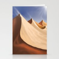 desert Stationery Cards featuring Desert by Turul