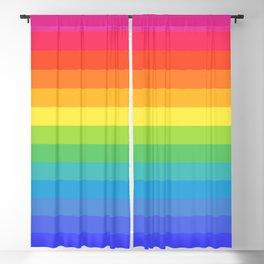Solid Rainbow Blackout Curtain