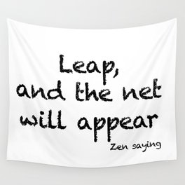 Leap... Wall Tapestry
