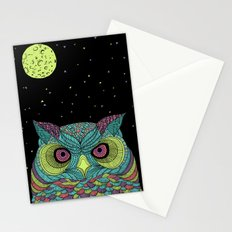 The Mystique Owl Stationery Cards
