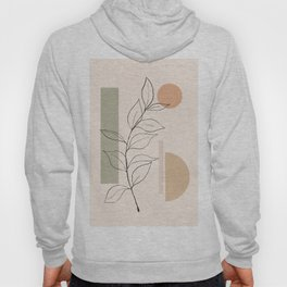 Abstract Minimal -Plant 11 Hoody