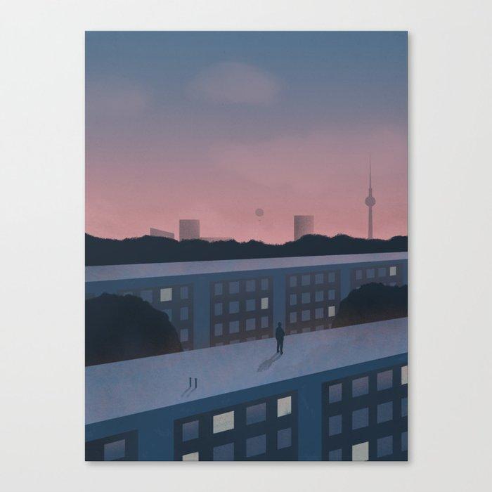 Berlin morning Canvas Print