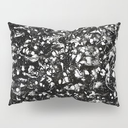 Black and white Galaxy Pillow Sham