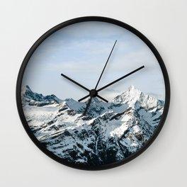 Mountain #landscape photography Wall Clock