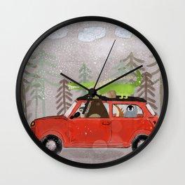 a mini adventure Wall Clock