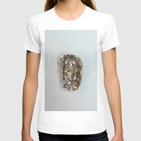 gold foil T-shirts featuring Gold Foil by Terriffico