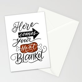 Meat Blanket Stationery Cards