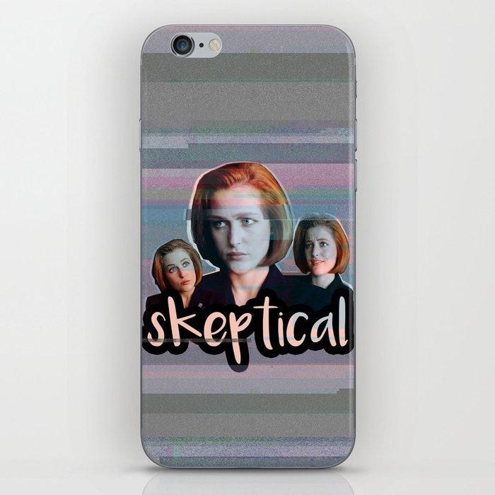 Skeptical Skully iPhone Skin