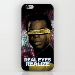 Geordi: Real Eyes Realize iPhone Skin