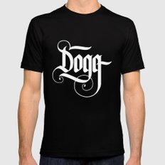 Dogg Black Mens Fitted Tee MEDIUM