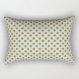 Polka Dot Frenzy Rectangular Pillow