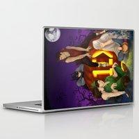 1d Laptop & iPad Skins featuring 1D Halloween by RockitRocket