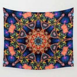 BBQSHOES: Kaleidoscopic Fractal Digital Art Design 1702K Wall Tapestry