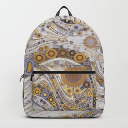 CASABLANCA a bohemian design using soft earth tones Backpack