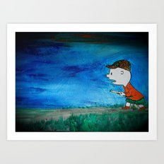 Into the Unknown Art Print
