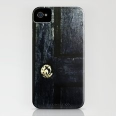 Doctor Who: Who has the Tardis key? iPhone (4, 4s) Slim Case