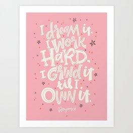 I Dream It Art Print