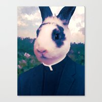 easter Canvas Prints featuring Easter by Benito Sarnelli