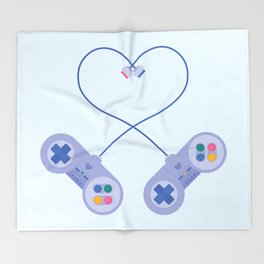 Be My Player 2 Throw Blanket