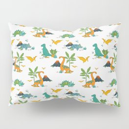 Quirky Dinos Pillow Sham