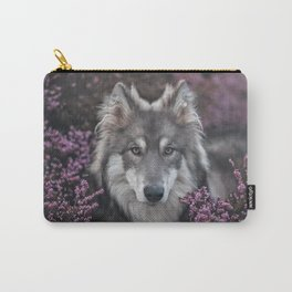 Flower Woof Carry-All Pouch