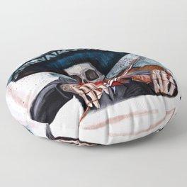 El Mariachi - Dia De Los Muertos Floor Pillow