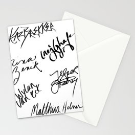 Six of Crows | The Crows Signatures Stationery Cards