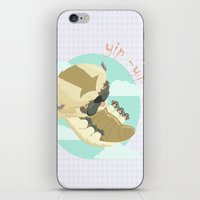 aang iPhone & iPod Skins featuring Appa - Avatar the legendo of Aang by Manfred Maroto