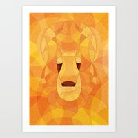Good lion Art Print