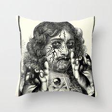 HEAVY METAL I Throw Pillow