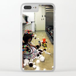 Play Ground Clear iPhone Case